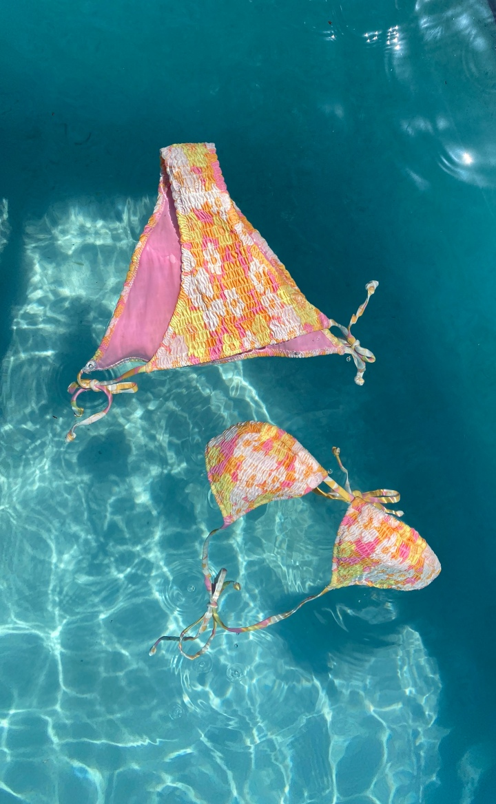 H&M COMBINED 2 OF TRIANGL'S BEST STYLES TO CREATE THIS BARGAINBIKINI